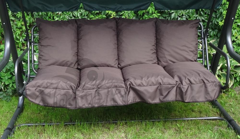 Poduszka Na Huśtawkę Ogrodową 150 Cm Kolor Brąz